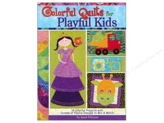 Colorful Quilts For Playful Kids Book