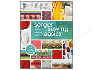 House of White Birches Serger Sewing Basics Book by Carol Zentgraf