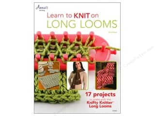 House of White Birches Learn to Knit on Long Looms Book by Anne Bipes