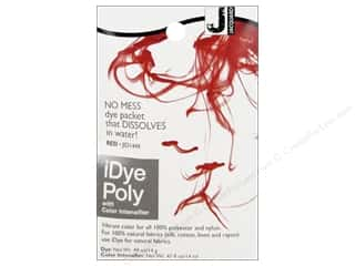 Jacquard iDye Poly Fabrics 14gm Red