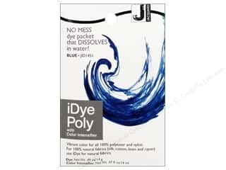 Jacquard Fabric Painting & Dying: Jacquard iDye Poly Fabrics 14gm Blue