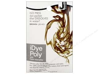 Jacquard iDye Poly Fabrics 14gm Brown