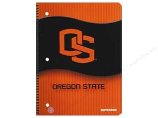 Note Cards Back to School: Oregon State Notebook 8 x 10 1/2 in.