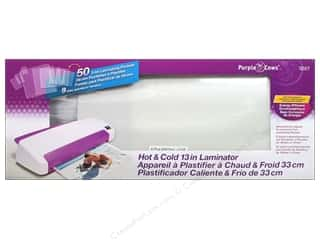 Brand-tastic Sale Steady Betty: Purple Cows 13 in. Hot And Cold Laminator