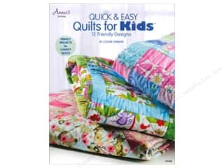 "Books & Patterns 11"": Annie's Quick & Easy Quilts For Kids Book by Connie Ewbank"