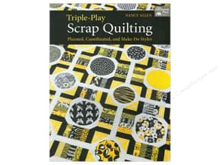 Triple Play Scrap Quilting Book