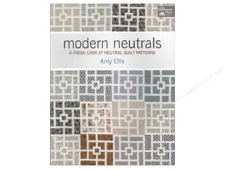 Books Black: That Patchwork Place Modern Neutrals: A Fresh Look at Neutral Quilt Patterns by Amy Ellis