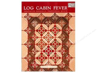Log Cabin Quilts: That Patchwork Place Log Cabin Fever: Innovative Designs for Traditional Quilting by Evelyn Sloppy