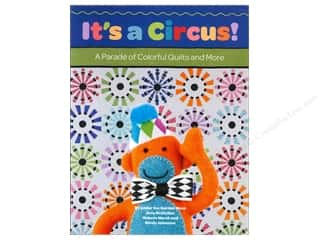 Appliques $3 - $13: Kansas City Star It's A Circus Book by Under the Garden Moon