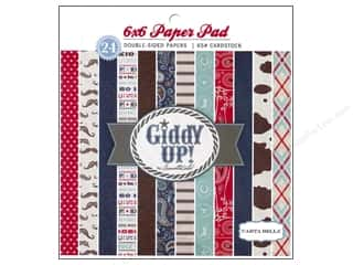 Carta Bella Paper Pad 6x6 Giddy Up Boy