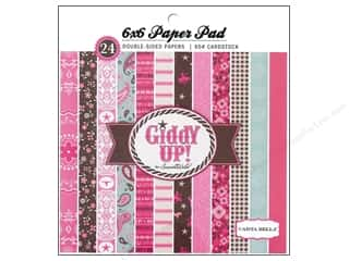 Carta Bella Paper Pad 6x6 Giddy Up Girl