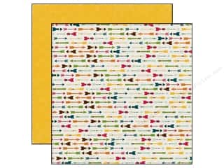 Echo Park 12 x 12 in. Paper Happy Camper Arrowhead (25 piece)