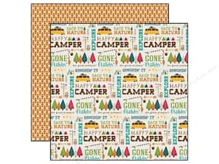 Echo Park 12 x 12 in. Paper Happy Camper Back To Nature (25 piece)
