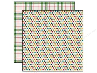 Echo Park 12 x 12 in. Paper Happy Camper Adventure Dots (25 piece)