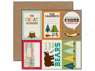Echo Park 12 x 12 in. Paper Happy Camper 4 x 6 in. Journaling Cards (25 piece)