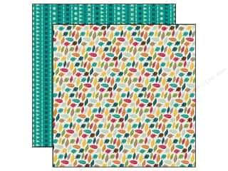 Echo Park 12 x 12 in. Paper Happy Camper Leaf It To Me (25 piece)