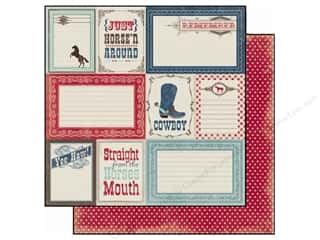 Carta Bella Paper 12x12 Giddy Up Boy Yee Haw (25 piece)