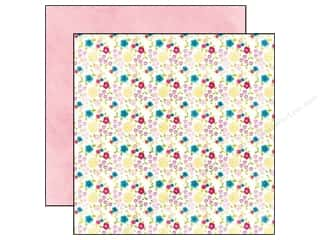 Patches Clearance Crafts: Echo Park 12 x 12 in. Paper Here And Now Collection Flower Patch (25 pieces)