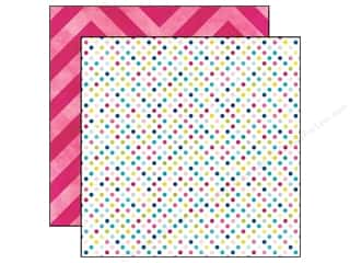Echo Park Paper Company: Echo Park 12 x 12 in. Paper Here And Now Collection Dots (25 sheets)