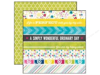 Echo Park 12 x 12 in. Paper Here And Now Border Strips (25 piece)