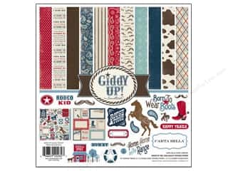 Carta Bella Collection Kit 12x12 Giddy Up Boy