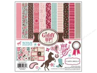 Carta Bella Collection Kit 12 x 12 in. Giddy Up Girl