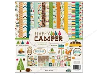 Echo Park Collection Kit 12 x 12 in. Happy Camper
