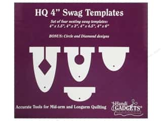 Handi Quilter Swag Templates 4 in. 4 pc.