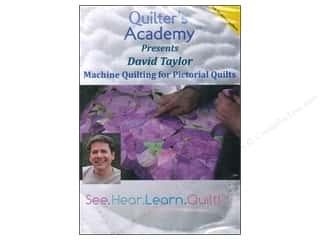 David & Charles Computer Software / CD / DVD: Handi Quilter Machine Quilting Pictorial Quilt DVD