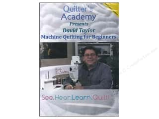 David & Charles Computer Software / CD / DVD: Handi Quilter Machine Quilting For Beginners DVD