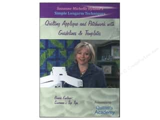 DVD Videos Quilting: Handi Quilter Simple Longarm Techniques: #5 Quilting Applique and Patchwork with Guidelines & Templates DVD with Suzanne Michelle Hyland