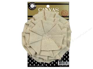 Canvas Home Basics Embellishment Flowers / Blossoms / Leaves: Canvas Corp Canvas Flower 4 in. Natural