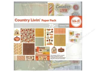 Farms Clearance Crafts: We R Memory Paper Pack Country Livin