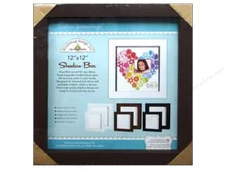 Doodlebug Shadow Box 12 x 12 in. Brown