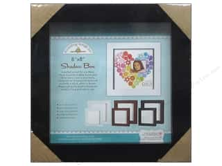 Doodlebug Shadow Box 8 x 8 in. Black