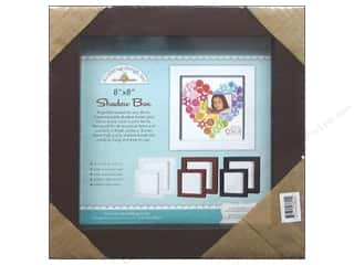 Doodlebug Shadow Box 8 x 8 in. Brown