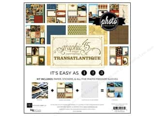 Echo Park 12 x 12 in. Transatlantique Collection Kit