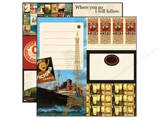 Echo Park 12 x 12 in. Paper Transatlantique All Aboard (15 piece)
