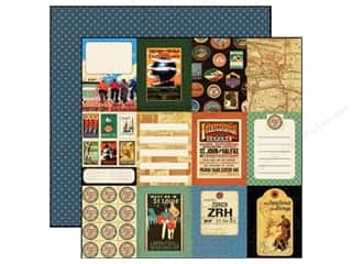Echo Park 12 x 12 in. Paper Transatlantique World Traveler (15 piece)