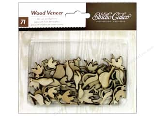 Studio Calico Wood Veneer Take Note Birds
