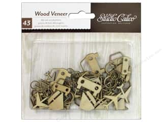 Transportation Scrapbooking & Paper Crafts: Studio Calico Wood Veneer Abroad Transportation