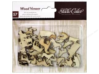 Studio Calico Wood Veneer Here & There Farm Animal
