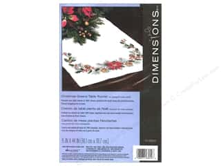 Clearance Blumenthal Favorite Findings: Dimensions Cross Stitch Table Runner Christmas Greens