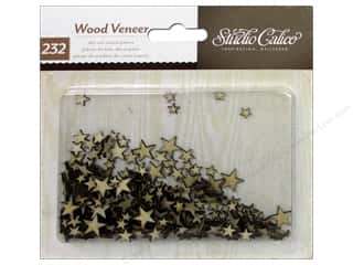 Stars $2 - $4: Studio Calico Wood Veneer Classic Calico 2 Tiny Stars