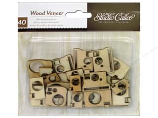 Careers & Professions Crafting Kits: Studio Calico Wood Veneer Abroad Cameras