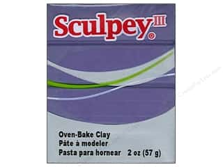 Clay Art Accessories: Sculpey III Clay 2 oz. Gentle Plum
