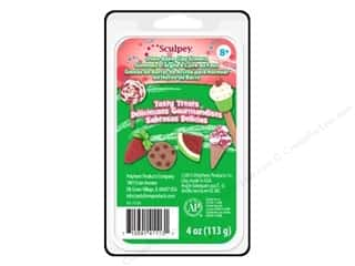 Sculpey Eraser Clay Set Tasty Treats 4pc