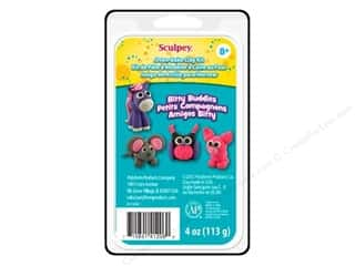 Crafting Kits Clay & Modeling: Sculpey Bake Shop Mini Clay Kit Bitty Buddies