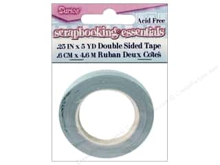 Darice Scrapbooking & Paper Crafts: Darice Scrapbooking Essentials Double Side Adhesive Tape 1/4 in. 5 yd. (3 packages)