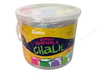 Kids Crafts Blue: Darice Kid's Crafts Sidewalk Chalk Jumbo 20 pc.